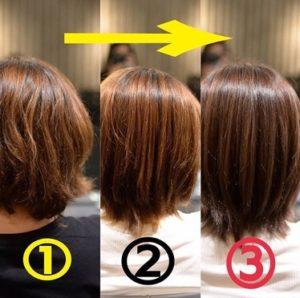 名古屋栄・伏見で髪質改善