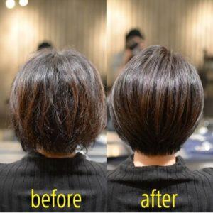 名古屋栄・伏見の美容室 髪質改善  ショートヘアが人気の美容院 HANS
