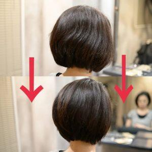 美髪チャージが人気の美容室