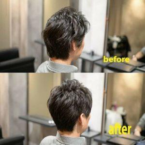 名古屋栄・伏見の美容室 美容院 HANS スタイリングが簡単なメンズヘア