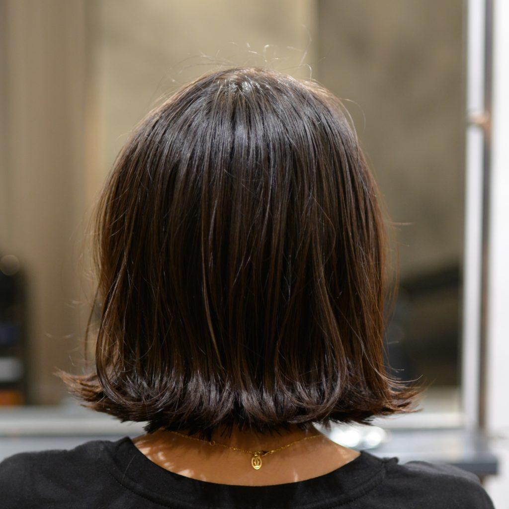 美容室・美容院HANSハンス 名古屋栄・伏見・大須 外ハネ ボブカット