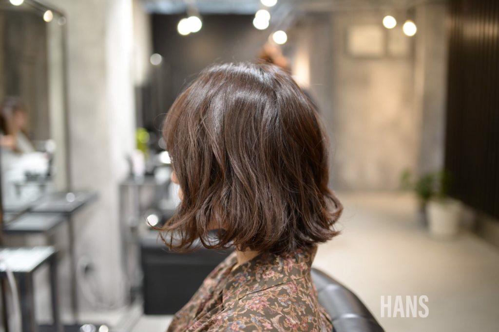 名古屋栄・伏見で髪質改善 フレンチボブカットが人気の美容室 HANS ハンス