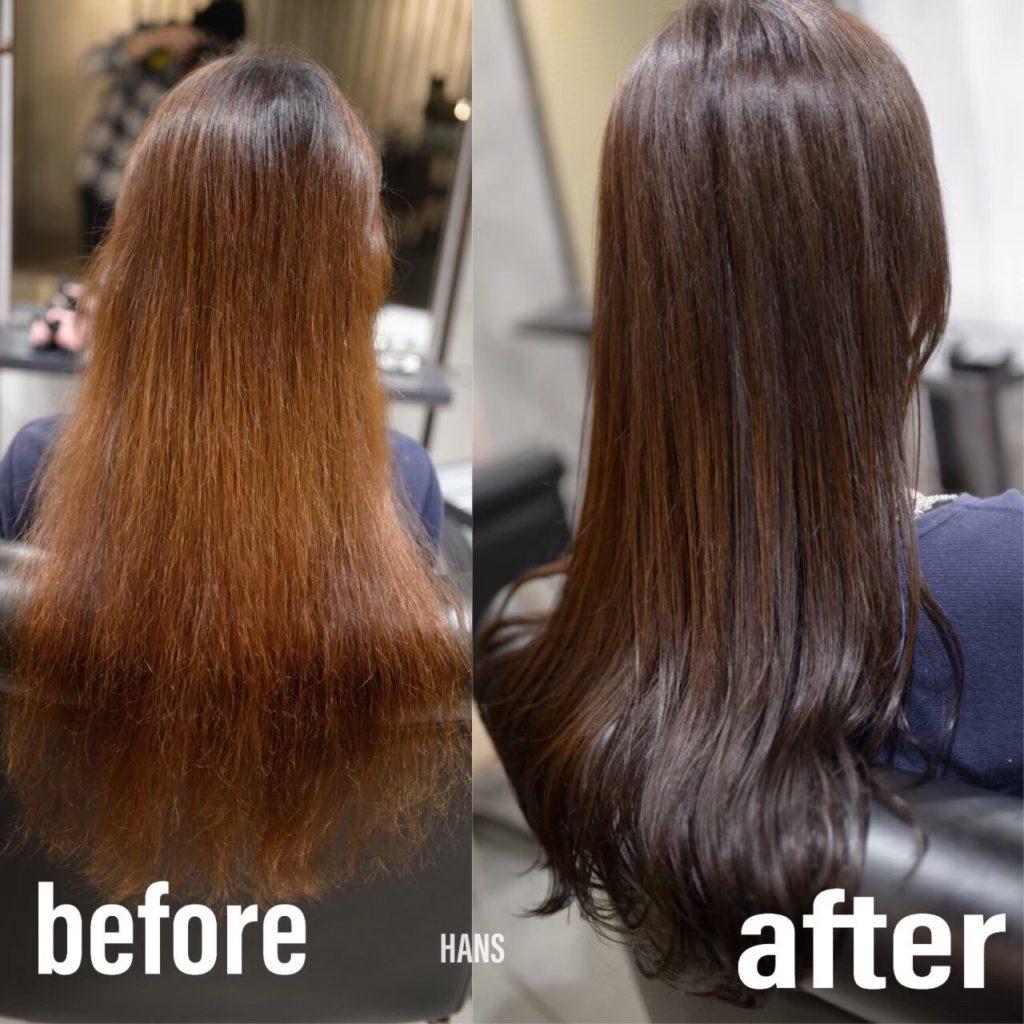 名古屋栄・伏見で髪質改善 トリートメントが人気の美容室 HANS ハンス