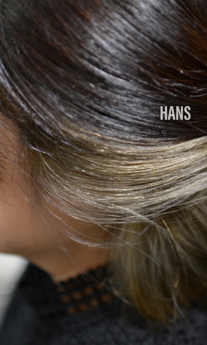 名古屋栄・伏見で髪質改善 ブリーチカラーが人気の美容室 HANS ハンス