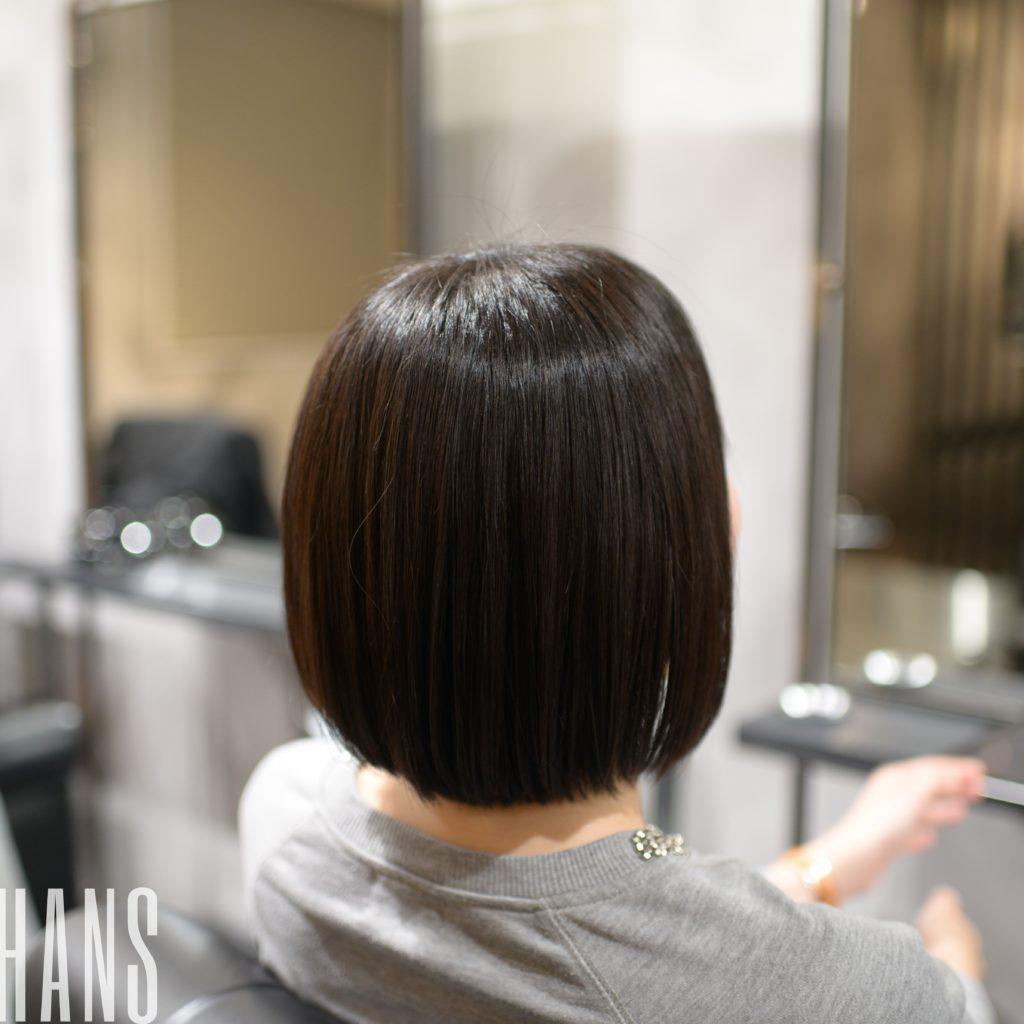 名古屋栄の美容室 HANS ハンスの縮毛矯正