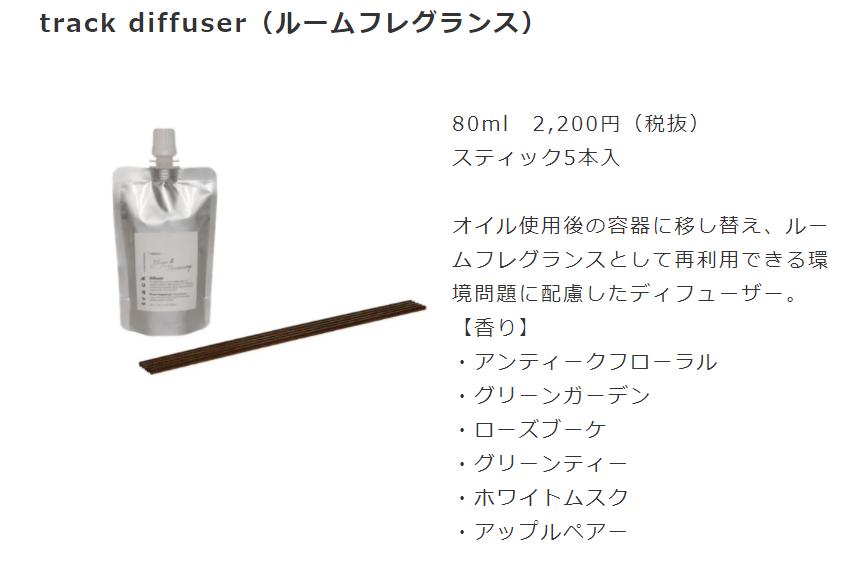 名古屋栄でとtrack oil No.3を取り扱っている美容室 HANS ハンス