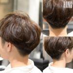 名古屋栄の美容室 HANS ハンスの刈り上げショート